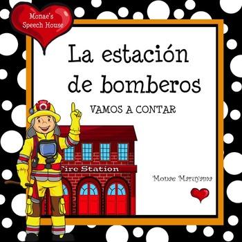 Spanish Fireman Counting Book ELL/ESL