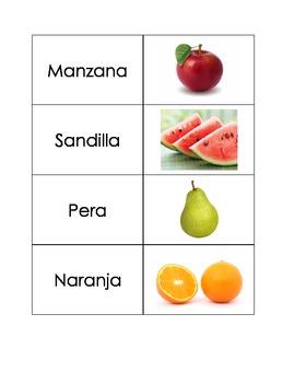 Spanish Flashcards: Fruit