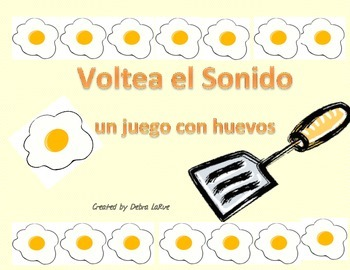 """Spanish """"Flip the Sound"""": reading soft and hard g and c words"""