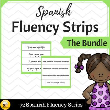 Spanish Fluency Sentence Strips {Bundle}