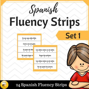Spanish Fluency Sentence Strips Level I