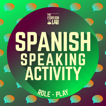 Spanish Food – Food Shopping Lesson Plan: Speaking Activit