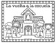 Spanish & French Back to School Coloring Pages FREEBIE!