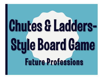 Spanish Future Professions Chutes and Ladders-Style Game