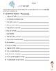 Spanish Future Tense Practice Sheet/ Worksheet/ Homework