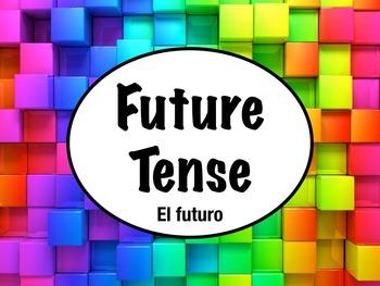 Spanish Future Tense Regular Verbs PowerPoint Slideshow Pr