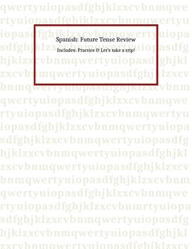 Spanish: Future Tense Review
