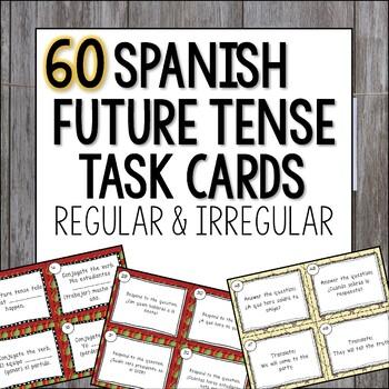 Spanish Future Tense Task Cards