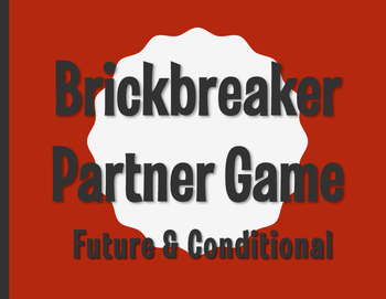 Spanish Future and Conditional Brickbreaker Partner Game