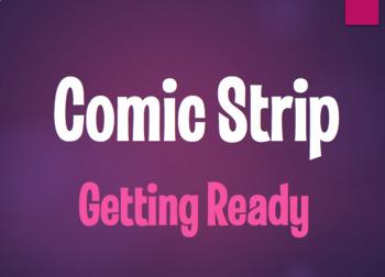 Spanish Getting Ready Comic Strip