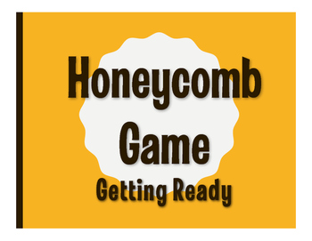 Spanish Getting Ready Honeycomb