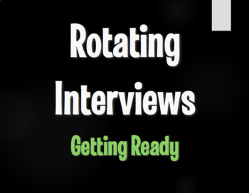 Spanish Getting Ready Rotating Interviews