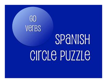 Spanish Go Verb Circle Puzzle