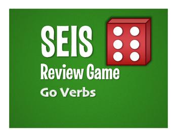 Spanish Go Verb Seis Game