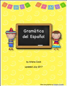 Spanish Grammar Packet