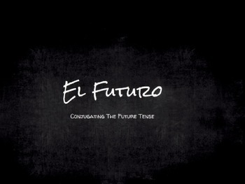 Spanish Grammar Presentation: The Future Tense