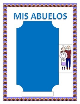 """Spanish Grandparent's Day- """"Mis Abuelos""""-- Physical & Pers"""