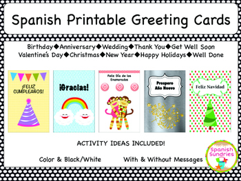 Spanish Greeting Cards