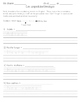 Spanish Greetings/Goodbyes Spelling Worksheets/vocab intro