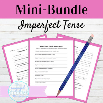 Spanish Imperfect MINI BUNDLE: Guided Notes, Practice, and