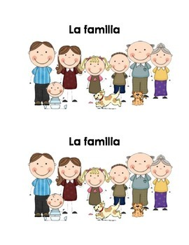 Spanish Guided Reading Book - La familia está aquí