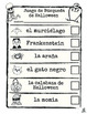 Spanish Halloween Literacy Center: Spanish Halloween Scave
