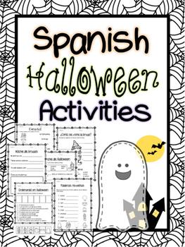 Spanish Halloween activity pack!