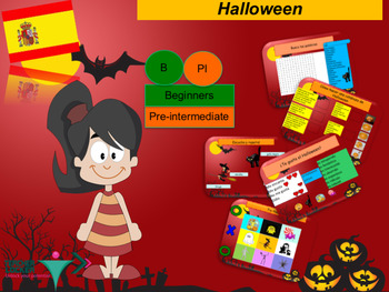 Spanish Halloween for beginners