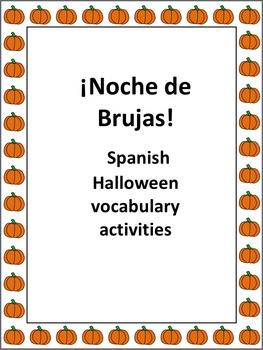 Spanish Halloween or Noche de Brujas