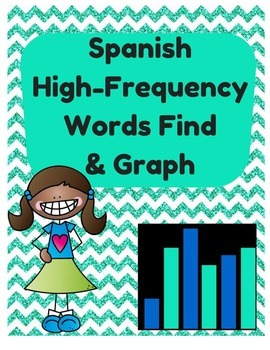 Spanish High Frequency Words Find and Graph (Palabras de u