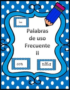 Spanish High Frequency Words2