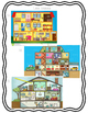 Spanish House & Home Vocabulary Reading Activity with Strategies