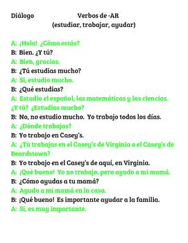 Spanish I Dialogue