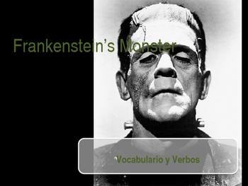 Spanish I Final Exam Review Frankenstein's Monster Game
