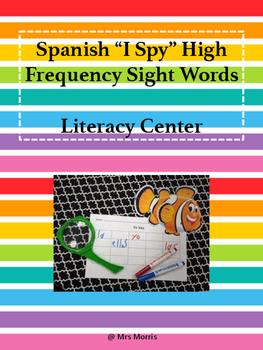 Spanish I Spy Literacy Center