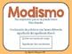 Spanish Idioms Task Cards- MODISMOS