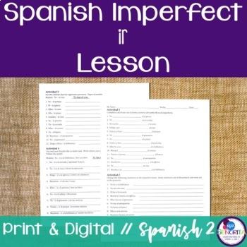 Spanish Imperfect Ir Lesson