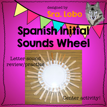 Spanish Initial Letter Sounds Practice