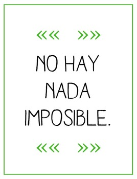 Spanish Inspirational Quotes - 3