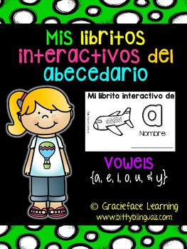 Spanish Interactive Books Vowels - Mis libritos interactiv