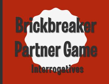 Spanish Interrogatives Brickbreaker Partner Game