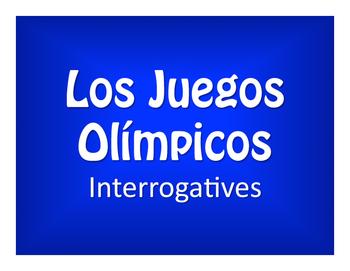 Spanish Interrogatives Olympics
