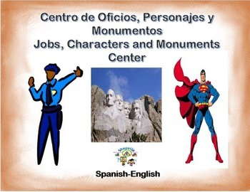 Spanish - Jobs, Characters and Monuments/ Oficios y Monume