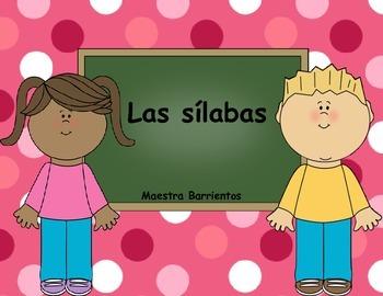 Spanish Syllables - Las silabas