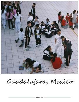 """Spanish Lesson Materials for """"En la Escuela"""" Thematic Units"""
