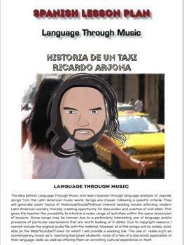 Spanish Lesson Plan - Language through Music - Song: Histo