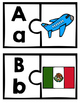 Spanish Letter Matching Puzzles