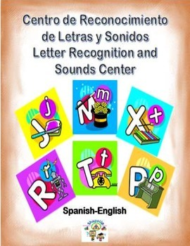 Spanish Letter Recognition and Sounds / Letras y Sonidos i