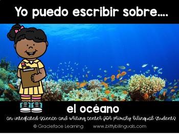 Spanish Literacy and Science - The Ocean – Yo puedo escrib