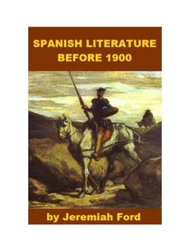 Spanish Literature before 1900